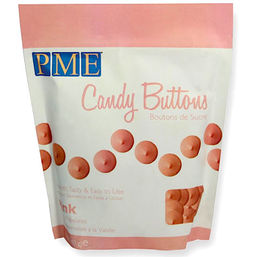Candy Buttons - Pink