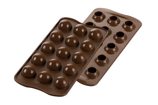 Suklaamuotti pallot 3D, Silikomart